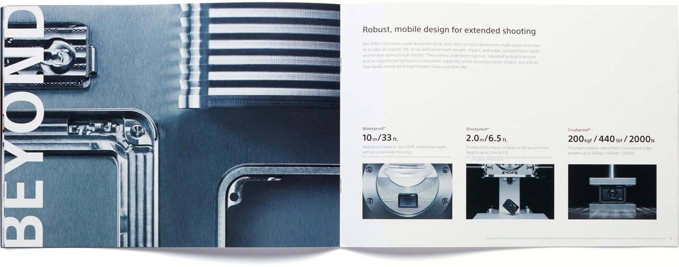 Sony Global - Digital still camera RX0 | Sony Design | Stories